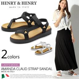 ヘンリーヘンリー ヘンリー&ヘンリー サンダル アマンダクロード 全2色(HENRY&HENRY AMANDA CLAUD)レディース(女性用) アウトドア スポーツサンダル ビーチサンダル