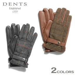 デンツ 手袋(メンズ) 送料無料 デンツ DENTS 手袋 マンチェスター レザーグローブ ブラック 他全2色DENTS MANCHESTER LEATHER GLOVES 15-1629 ヘアシープ 小物 本革 メンズ 黒