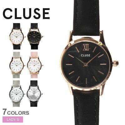 送料無料 CLUSE クルース 腕時計 全7色ラ ヴェデット 24 レザーベルト LA VEDETTE 24 LEATHERCL50011 CL50012 CL50009 CL50010 CL50008 CL50013 CL50014 レディース 【ラッピング対象外】