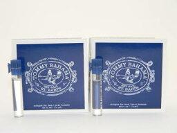 トミーバハマ トミー バハマ セットセイル セントパーツ オードトワレ メン お試しチューブサンプル 2個セット 2x1.5ml【Tommy Bahama Set Sail St. Barts Men EDT Vial Sample 1.5ml (Lot of 2)】