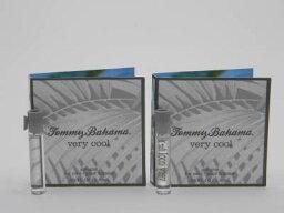 トミーバハマ トミー バハマ ベリー クール フォー メン オードトワレ お試しチューブサンプル 2個セット 2x1.5ml【Tommy Bahama Very Cool For Men EDT Vial Sample 1.5ml (Lot of 2)】
