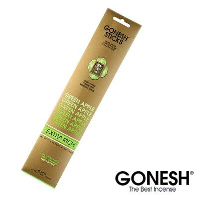 GONESH ガーネッシュ お香 スティック Green Apple グリーンアップル【ガーネッシュ(GONESH)】
