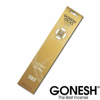 GONESH ガーネッシュ お香 スティック スペシャルエディションUltimate_Vanilla アルティメットバニラ【ガーネッシュ(GONESH)】