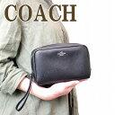 コーチ ポーチ コーチ COACH ポーチ クラッチバッグ 化粧ポーチ 24797SVBK ブランド 人気