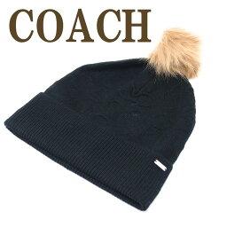 コーチ コーチ COACH 帽子 レディース ニットキャップ ニット帽子 ニット帽 32713BLK ブランド 人気