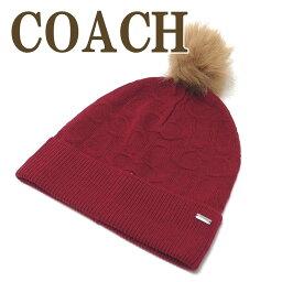 コーチ コーチ COACH 帽子 レディース ニットキャップ ニット帽子 ニット帽 32713BRD ブランド 人気