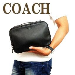 セカンドバッグ コーチ COACH バッグ メンズ セカンドバッグ クラッチバッグ 財布 セカンドポーチ レザー 39806QBBK ブランド 人気