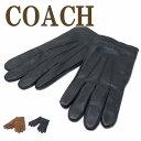 COACH 手袋 メンズ コーチ COACH メンズ グローブ 手袋 レザー カシミヤ混 54182 ブランド 人気