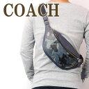 ショルダーバッグ コーチ COACH バッグ メンズ ショルダーバッグ 斜めがけ ウエストバッグ レザー 迷彩柄 カモフラージュ 76842QBBLM ブランド 人気