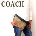 セカンドバッグ コーチ COACH バッグ メンズ セカンドバッグ クラッチバッグ ポーチ セカンドポーチ シグネチャー 91285QBTAL ブランド 人気