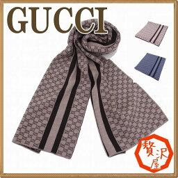 グッチ マフラー(メンズ) グッチ マフラー GUCCI レディース 高級ウール GG 438253-3G206 ブランド 人気