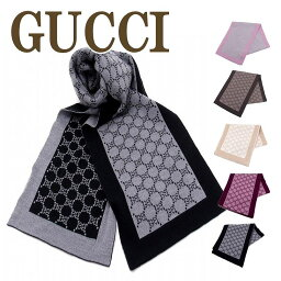 グッチ マフラー(レディース) グッチ GUCCI マフラー メンズ ストール レディース GG ウール 421068-3G206 ブランド 人気