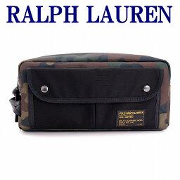 ラルフローレン ポロ ラルフローレン バッグ メンズ セカンドバッグ POLO RALPH LAUREN クラッチバッグ セカンドポーチ カモ 迷彩 RL4055-9883-9001 ブランド