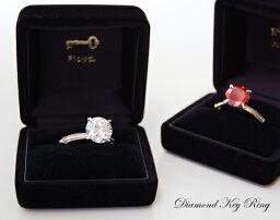 フロイド Diamond Key Ring /ダイヤモンド キーリングFloyd フロイド クリアー/レッドキーホルダー サングラスホルダー ダイヤモンド DETAIL【あす楽対応_東海】