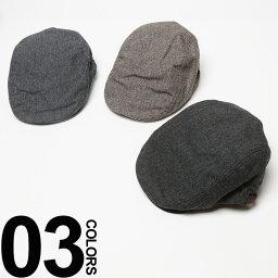ブランドハンチング(メンズ) grace (グレース) ウール ヘリンボーン ハンチング ハット 大きいサイズ BIG SIZE 帽子 プレゼント 小物 雑貨 61cm 楽天カード分割 05P03Dec16