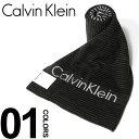 カルバンクライン カルバンクライン Calvin Klein マフラー ロゴ ボーダー柄 ブランド メンズ ビジネス 紳士 CK63606 クリスマスプレゼント 男性 彼氏 大人 雑貨 ギフト ラッピング