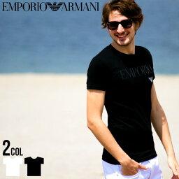 エンポリオ・アルマーニ アルマーニ Tシャツ メンズ 半袖 EMPORIO ARMANI Tシャツ ロゴ プリント エンポリオアルマーニ クルーネック ブランド メンズ EA111035CC716 SALE_1_a
