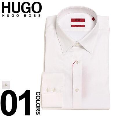 ヒューゴ ボス HUGO BOSS ワイシャツ レギュラーカラー 長袖 ドレスシャツ regular fit ブランド メンズ 紳士 ビジネス シャツ 綿100% Yシャツ コットン HBVENZO10181090