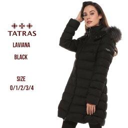 タトラス タトラス ダウンコート レディース TATRAS ウール ラクーンファー パーカー フード ダウンジャケット ラビアナ LAVIANA ブランド レディース アウター ロング TRLTA19A4571