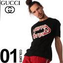 グッチ グッチ GUCCI Tシャツ 半袖 GG メタル ロゴ プリント ブランド メンズ トップス クルーネック GC493117XJAI0
