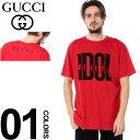 グッチ グッチ GUCCI Tシャツ 半袖 BILLY IDOL プリント クルーネック ブランド メンズ トップス カットソー ロック GC548335XJAIU