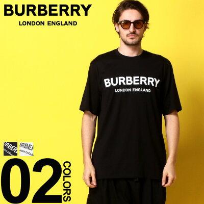 バーバリー BURBERRY Tシャツ 半袖 ロゴ プリント クルーネック リカルド ティッシ ブランド メンズ トップス コットン BB800949