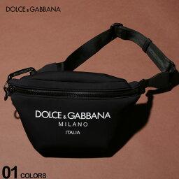 ウエストバッグ 【無料クリスマスラッピング対象】 ドルチェ&ガッバーナ DOLCE&GABBANA ボディバッグ ネオプレン ロゴ ウエストバッグ ブランド メンズ レディース バッグ 鞄 ポーチ DGBM1760AJ641