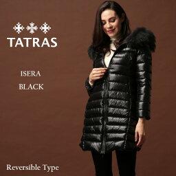 タトラス タトラス ダウン レディース TATRAS ダウンコート リバーシブル ナイロン ファーフード パーカー ロング ダウンジャケット ISERA イゼーラ ブランド アウター TRLTA20A4706