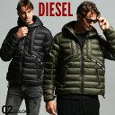 ディーゼル ディーゼル メンズ パディングジャケット DIESEL シンサレート フード 中綿 ジャケット ブランド アウター ブルゾン パーカー DSA00699GBAD