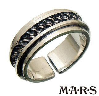 [3日以内に発送] M・A・R・S(M.A.R.S/mars/マーズ)【M1882R】シルバー コンポジット リング 指輪【ギフト包装-対応】【17号】